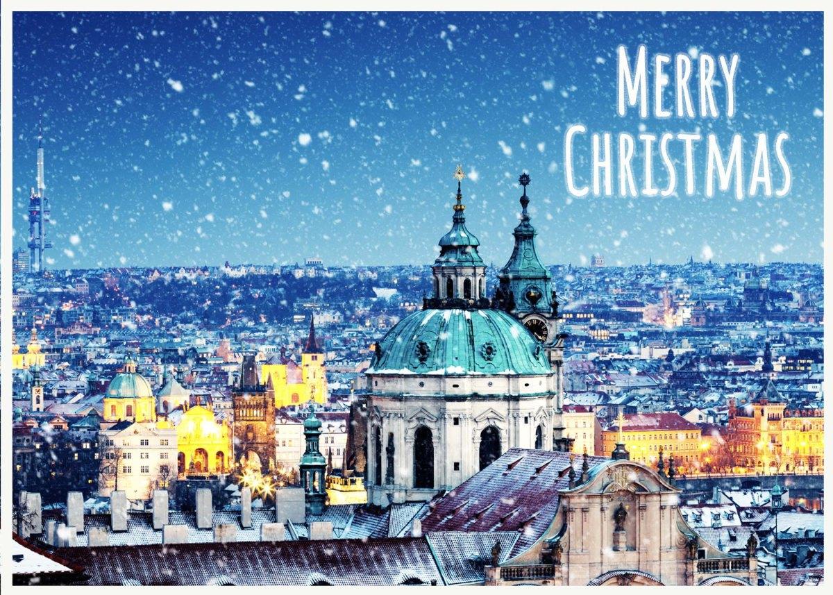 Christmas Card fromPrague