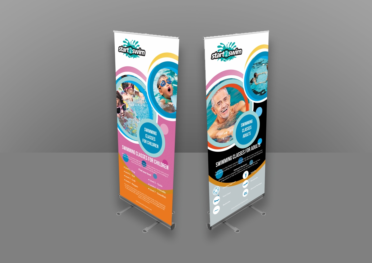 Swimming classes banner