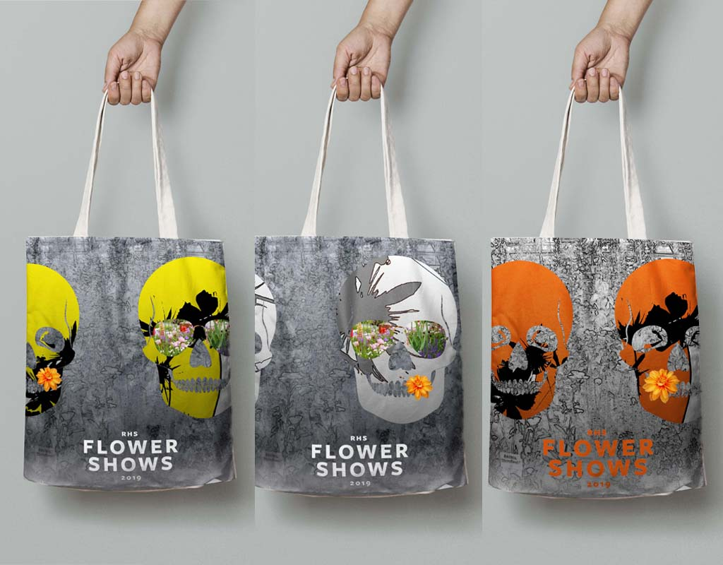New Mens Tote bag Chelsea Flower show