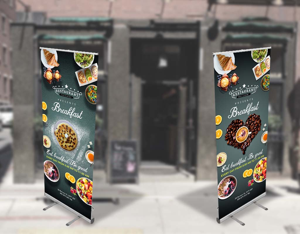 New Breakfast Caffe Banner