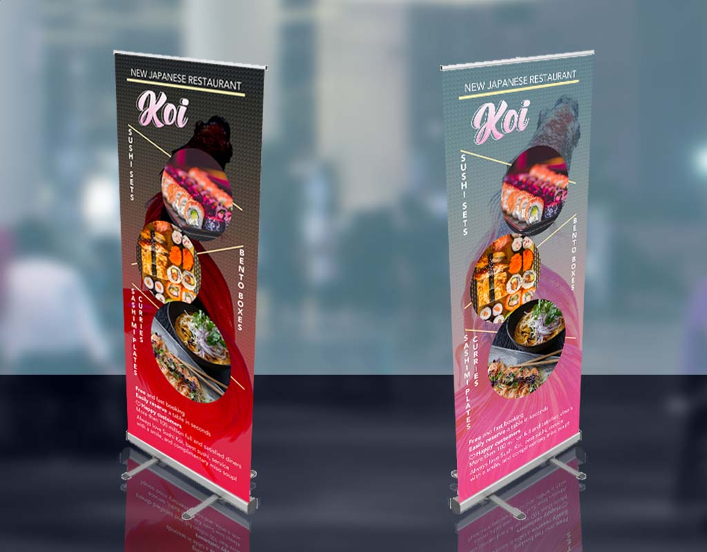 New Japanese Restaurant Banner