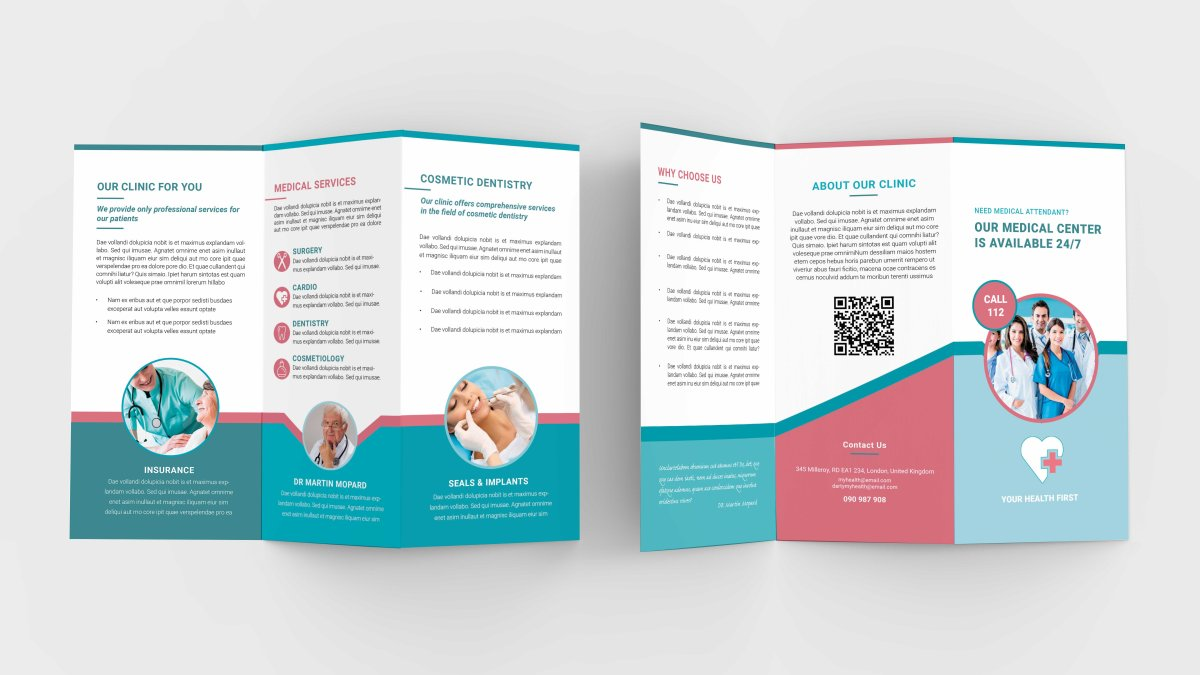 New Medical tri-fold Brochure