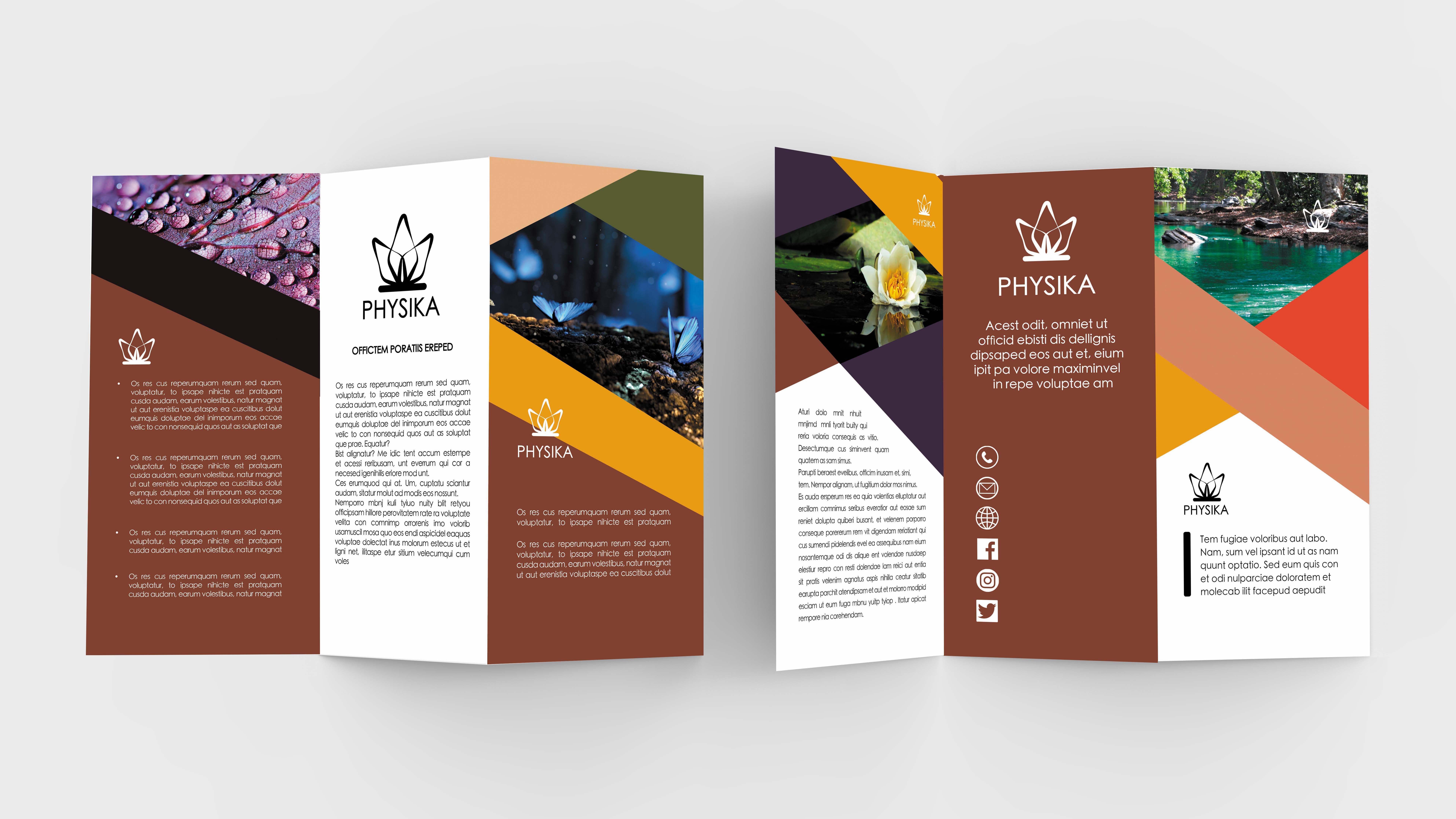 Nature Tri-fold Brochure