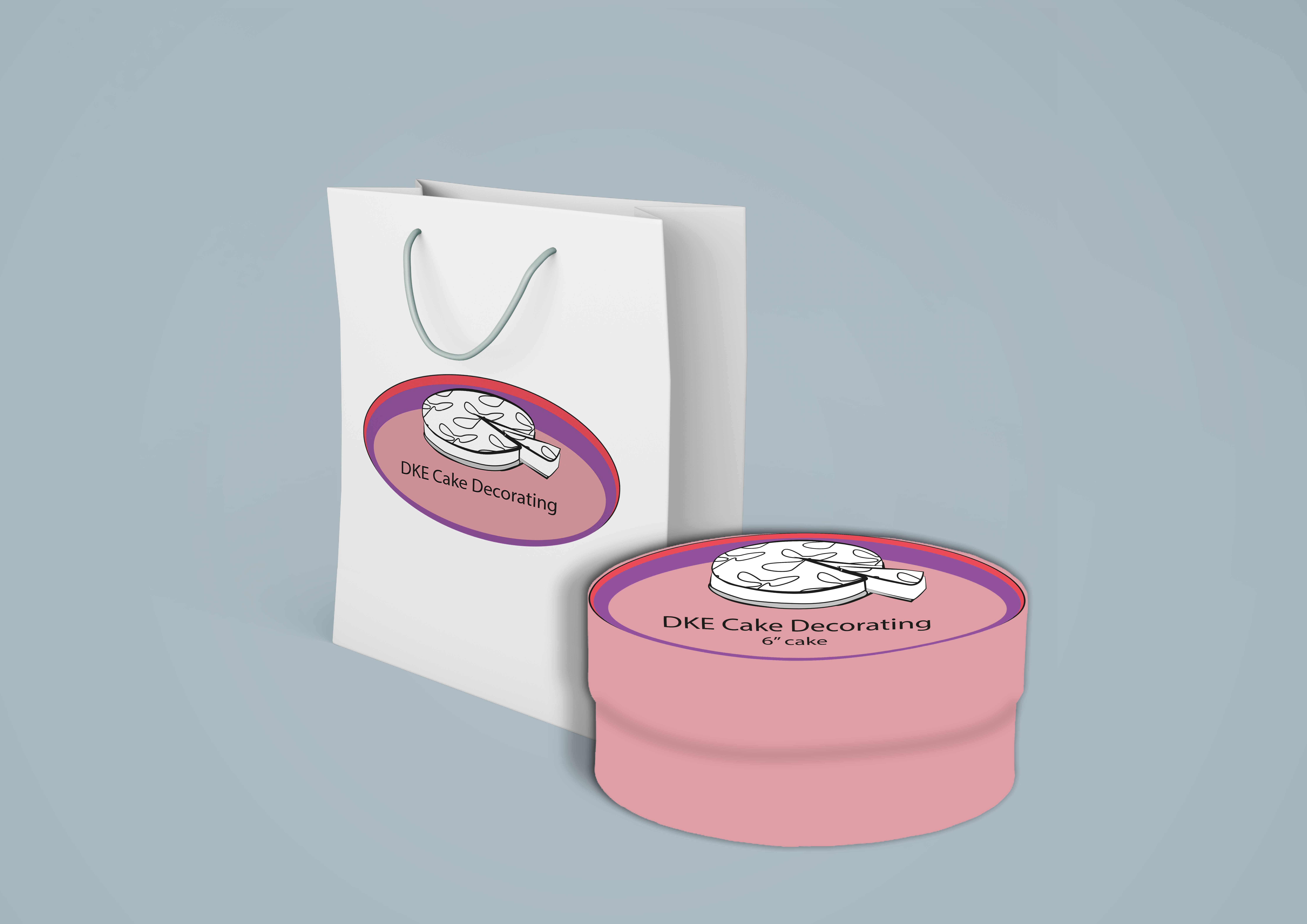 Cake Label Design