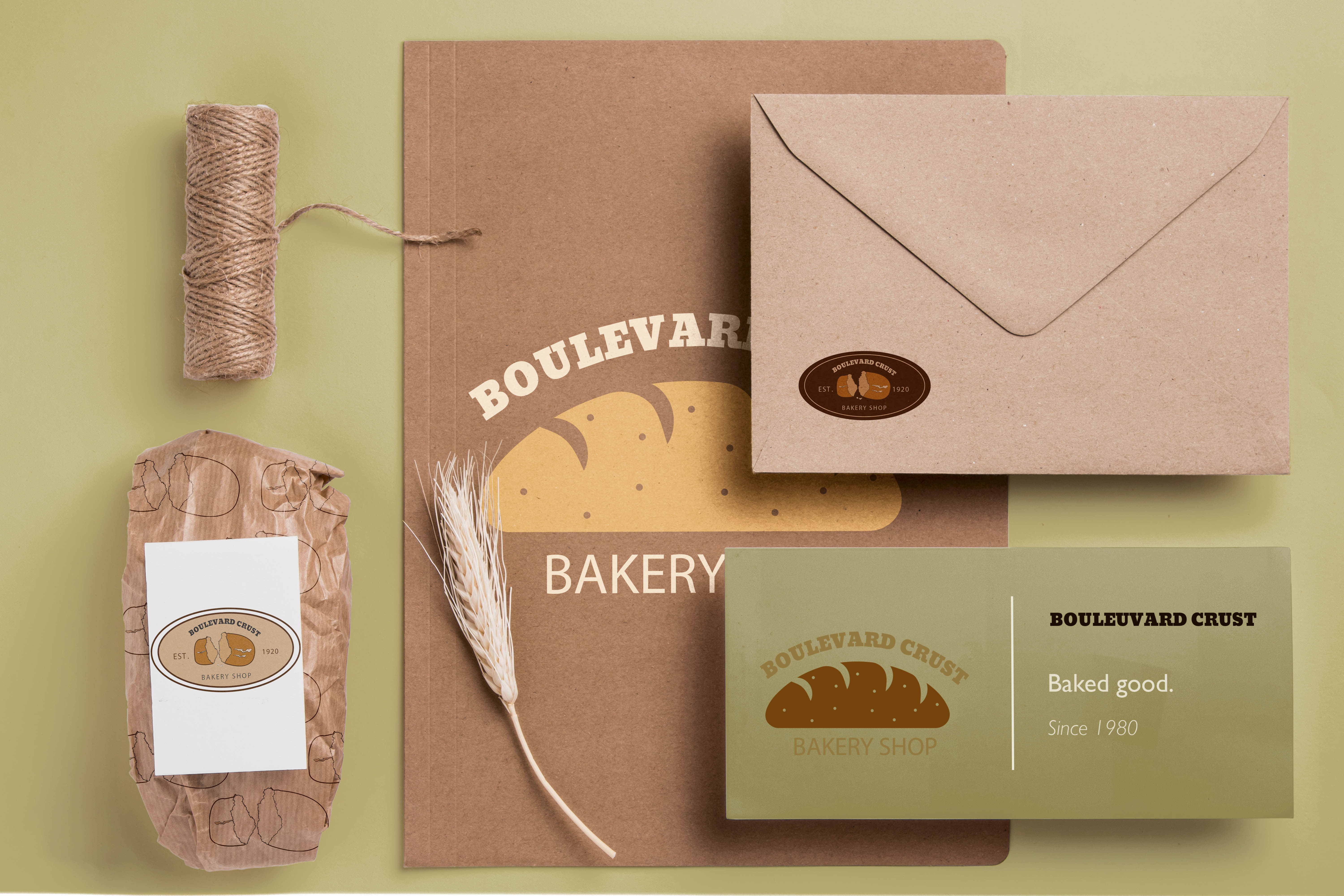 New Bakery Shop brand identity