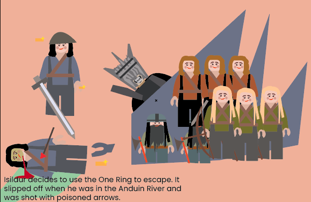 New Lord of the Rings infographics